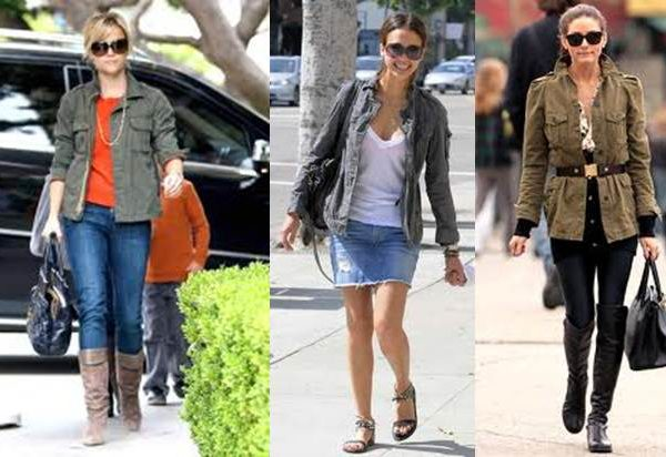 Look for Less ~ Cargo Jacket