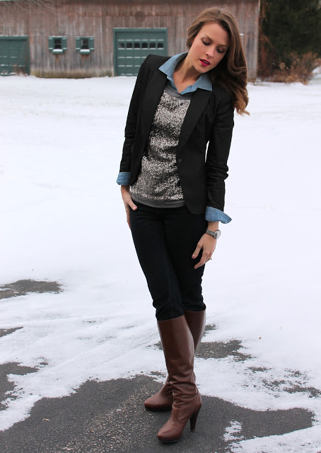Snowstorms & Sequins