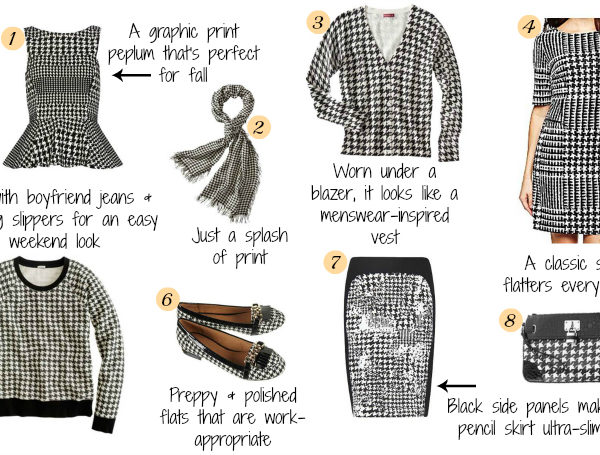 Hot For Houndstooth