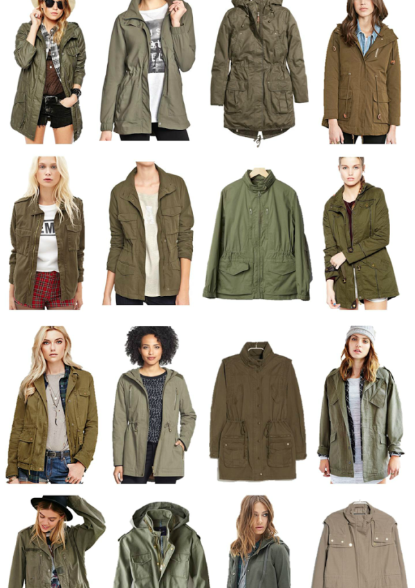 Spring Staple: Utility Jacket