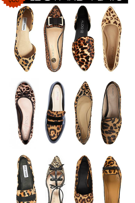 Closet Staple: Leopard Flats