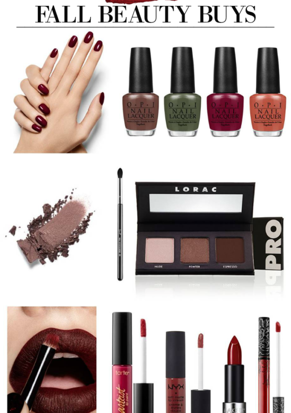Fall Beauty Edit