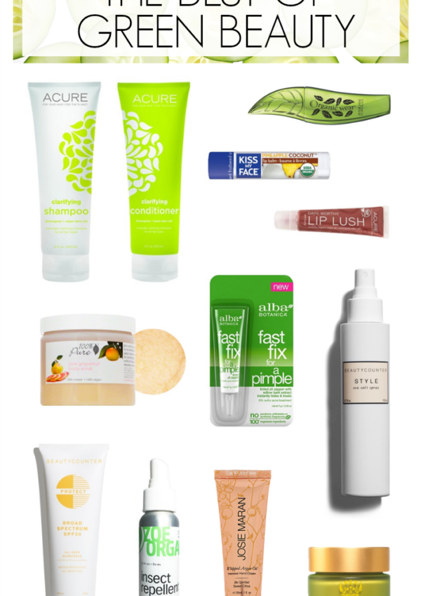 Green Beauty Favorites