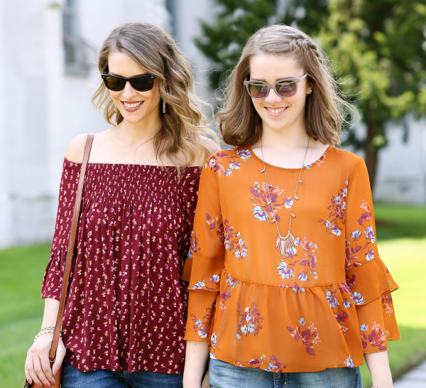 Fall Florals + Girl Time