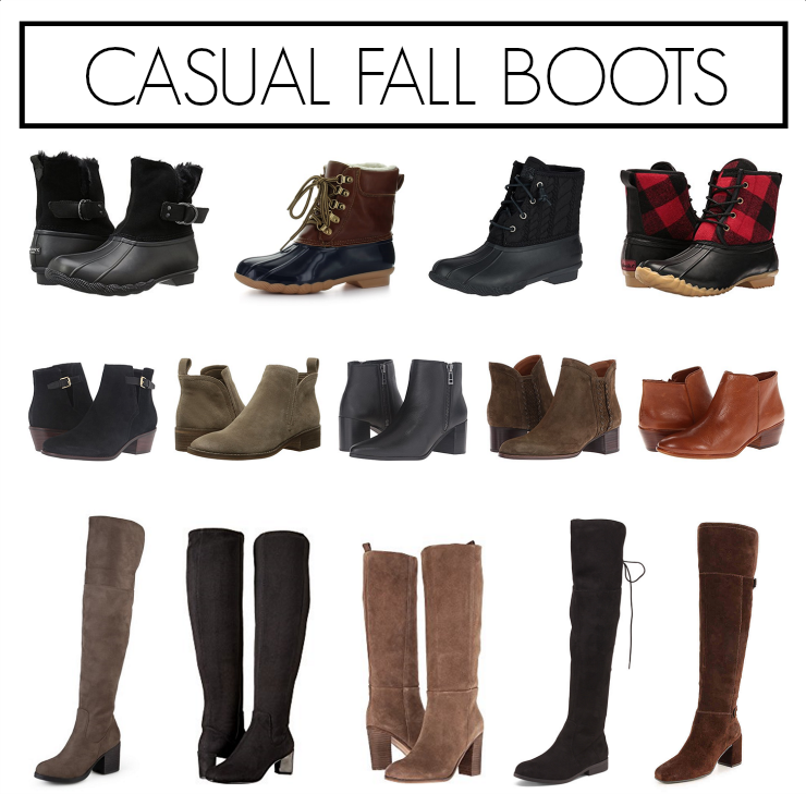 casual fall boots