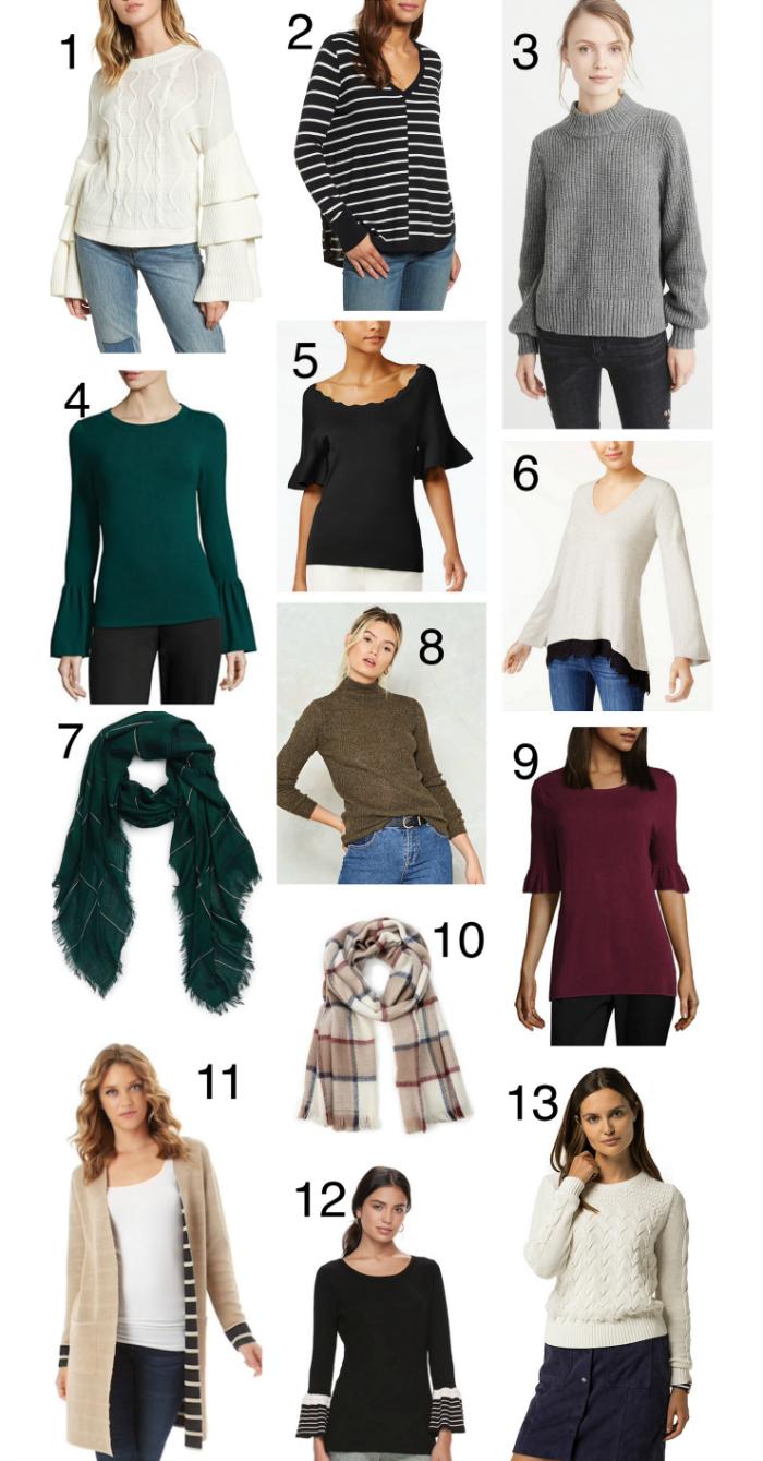 fall knitwear