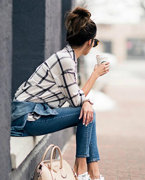 4 Ways To Wear: Plaid Shirt