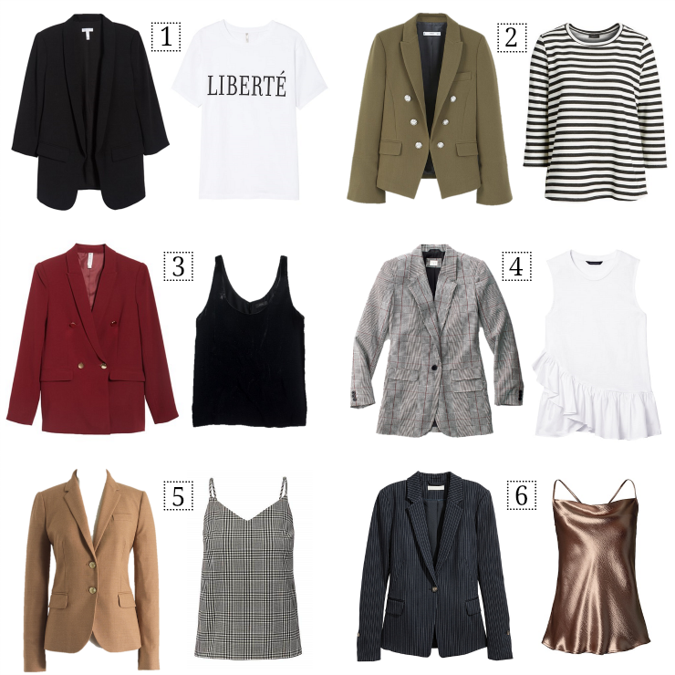 the modern way to wear a blazer