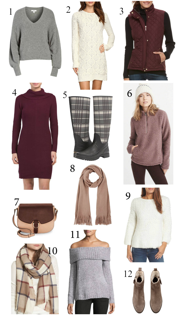 cozy fall staples