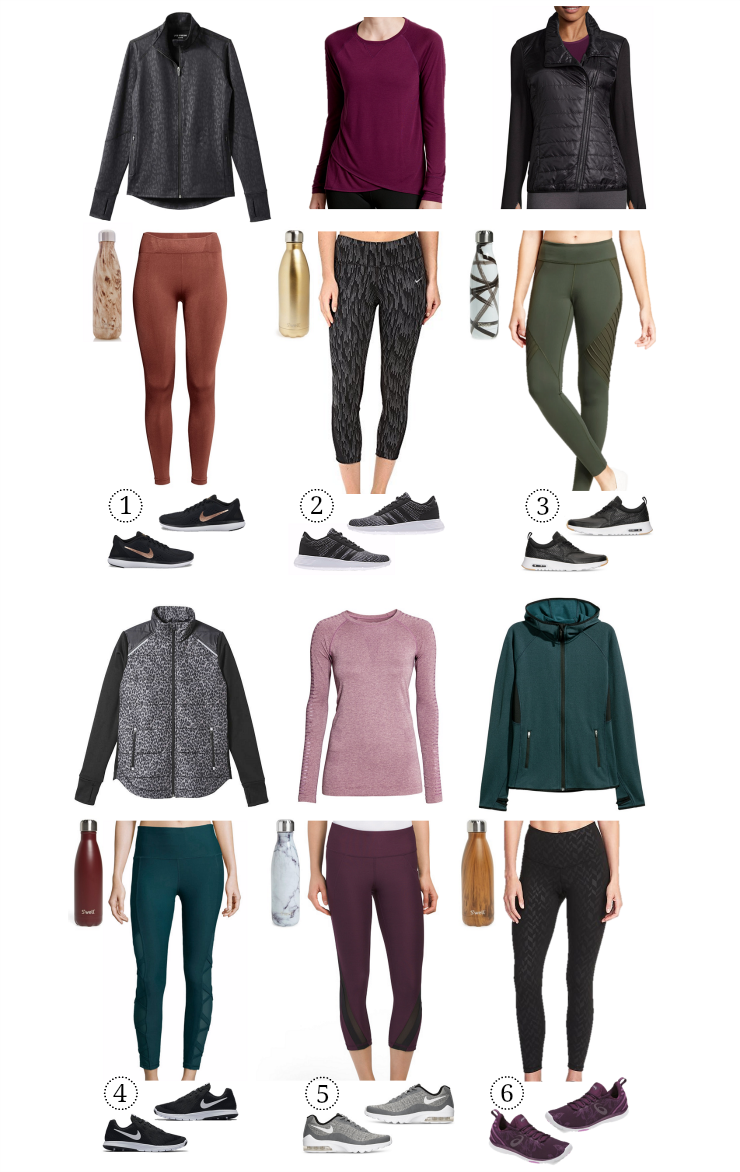 fall activewear looks