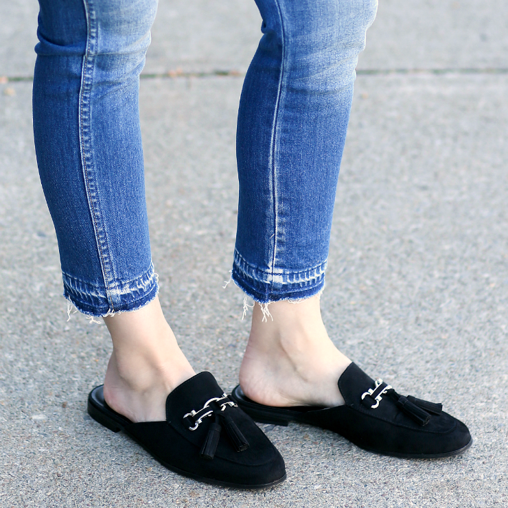 Solanz Baylee Loafer Mules