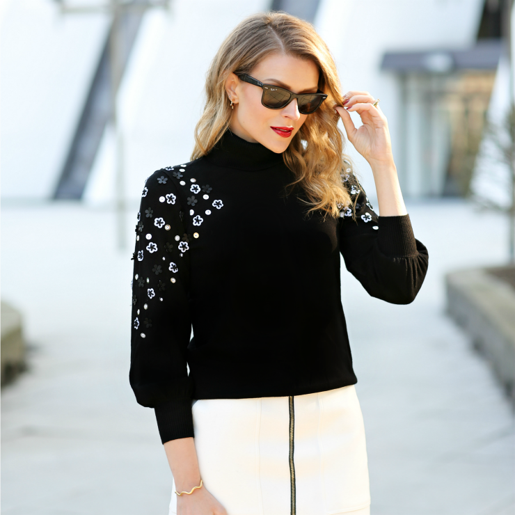 Alfani Embellished Sweater