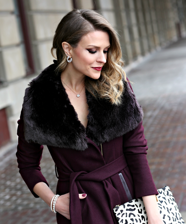 faux fur collar