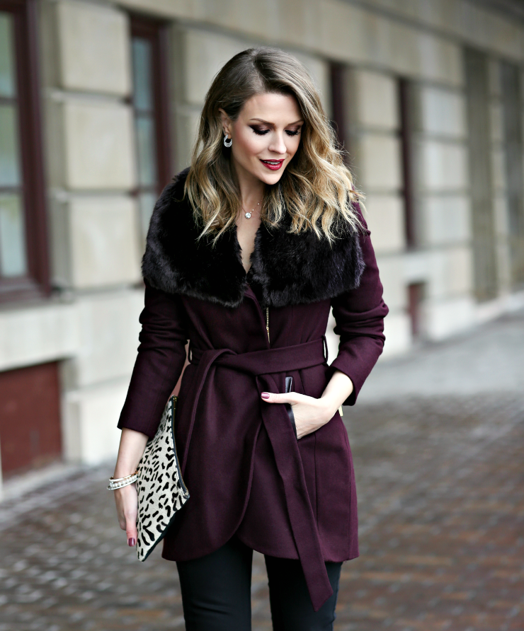 glam winter style