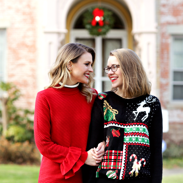 mother daughter holiday style