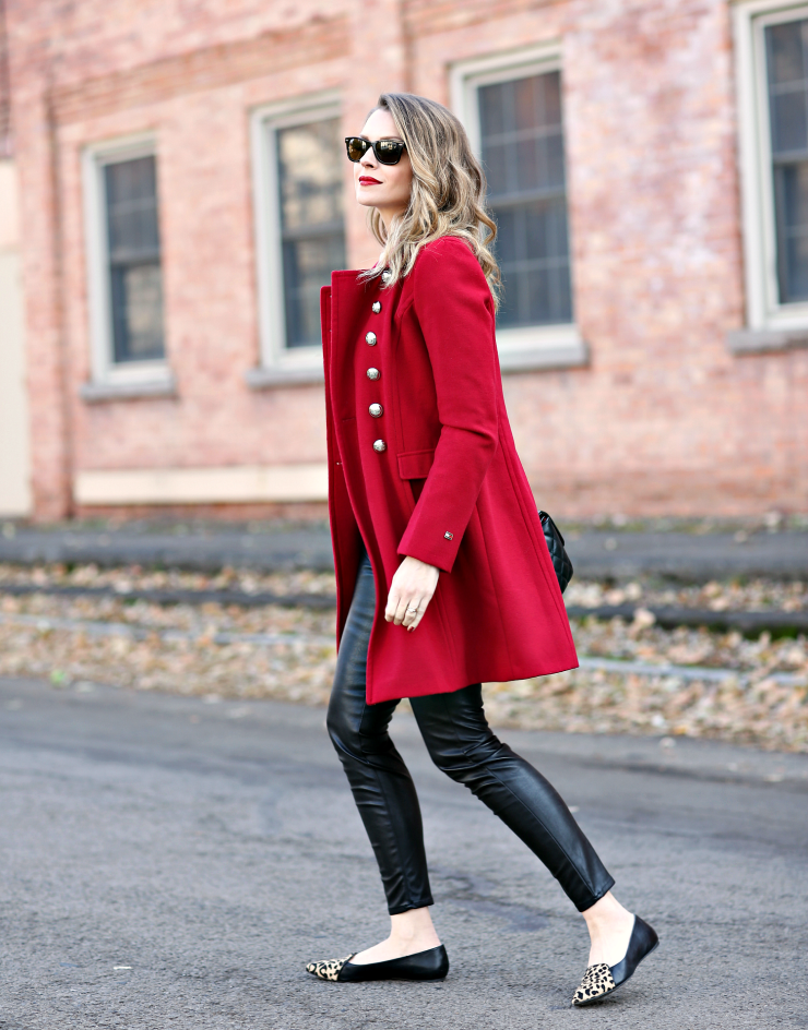 red military coat