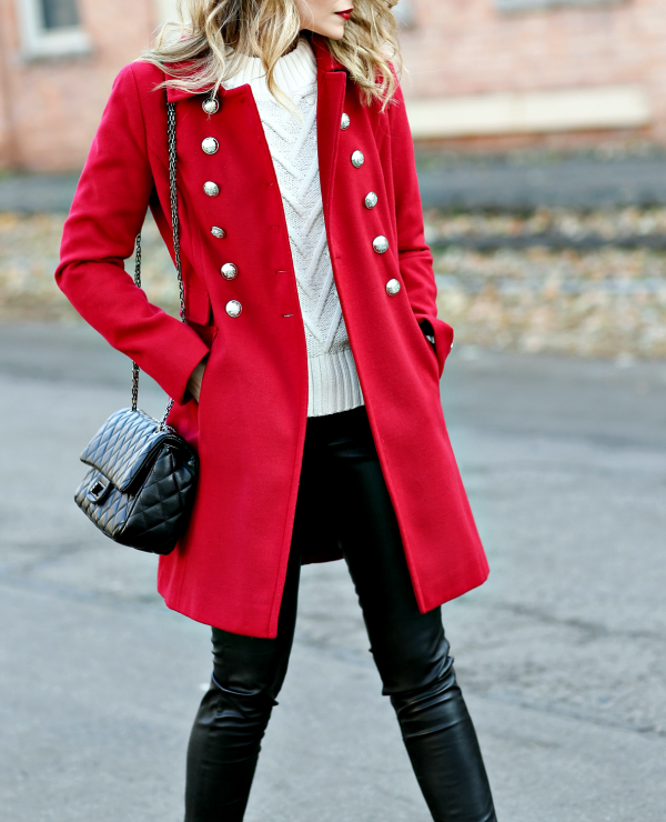 Classic Red Coat