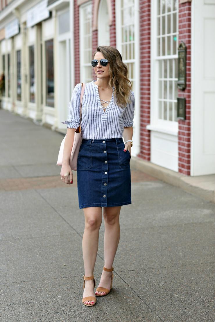 A New Day Denim Skirt