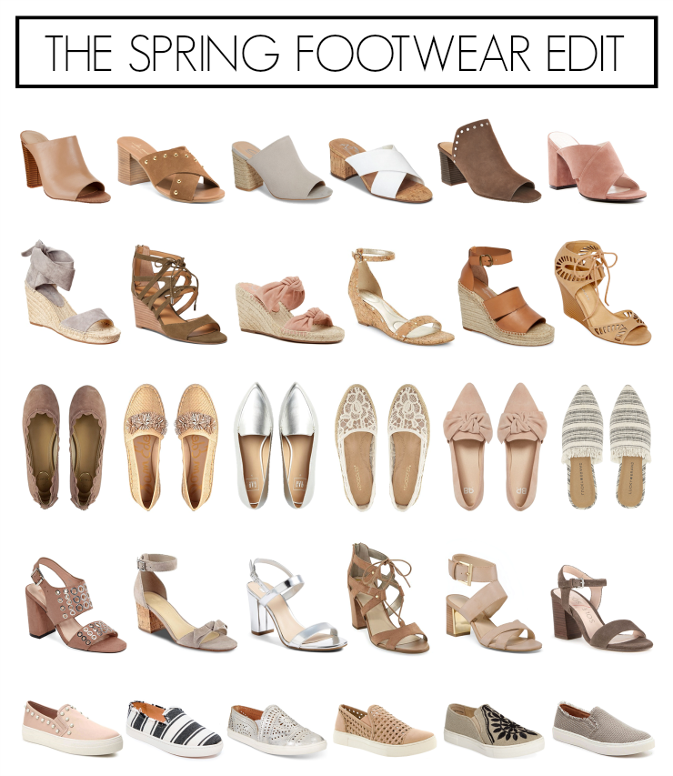 affordable spring footwear