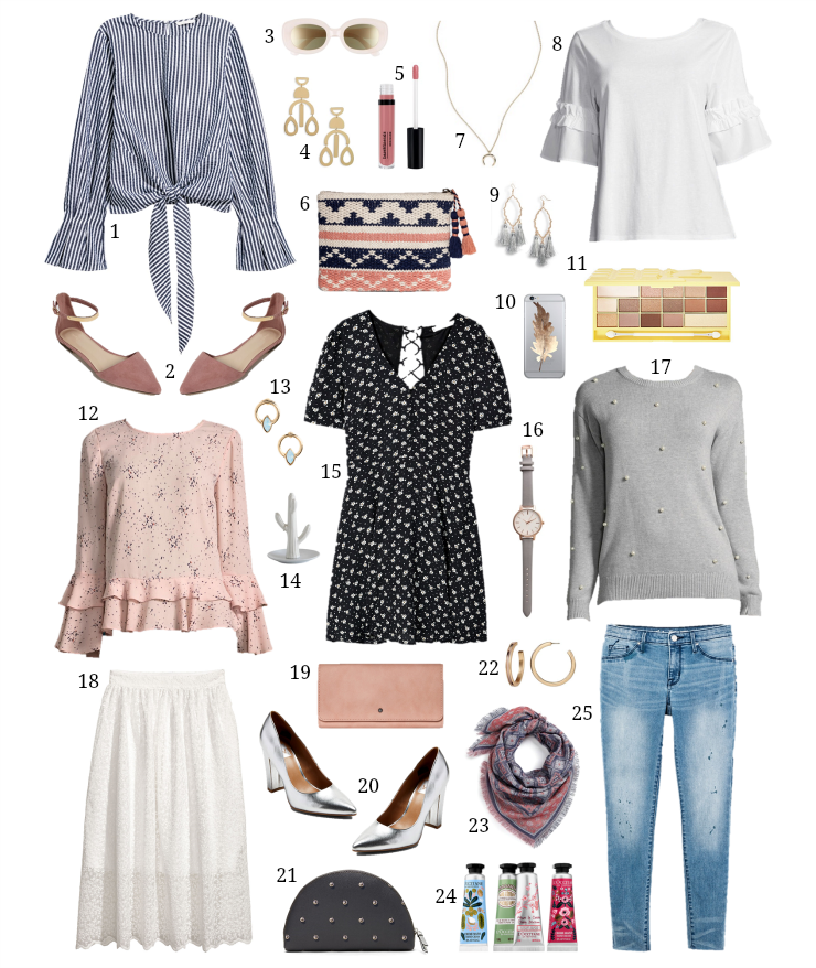 spring styles under $20