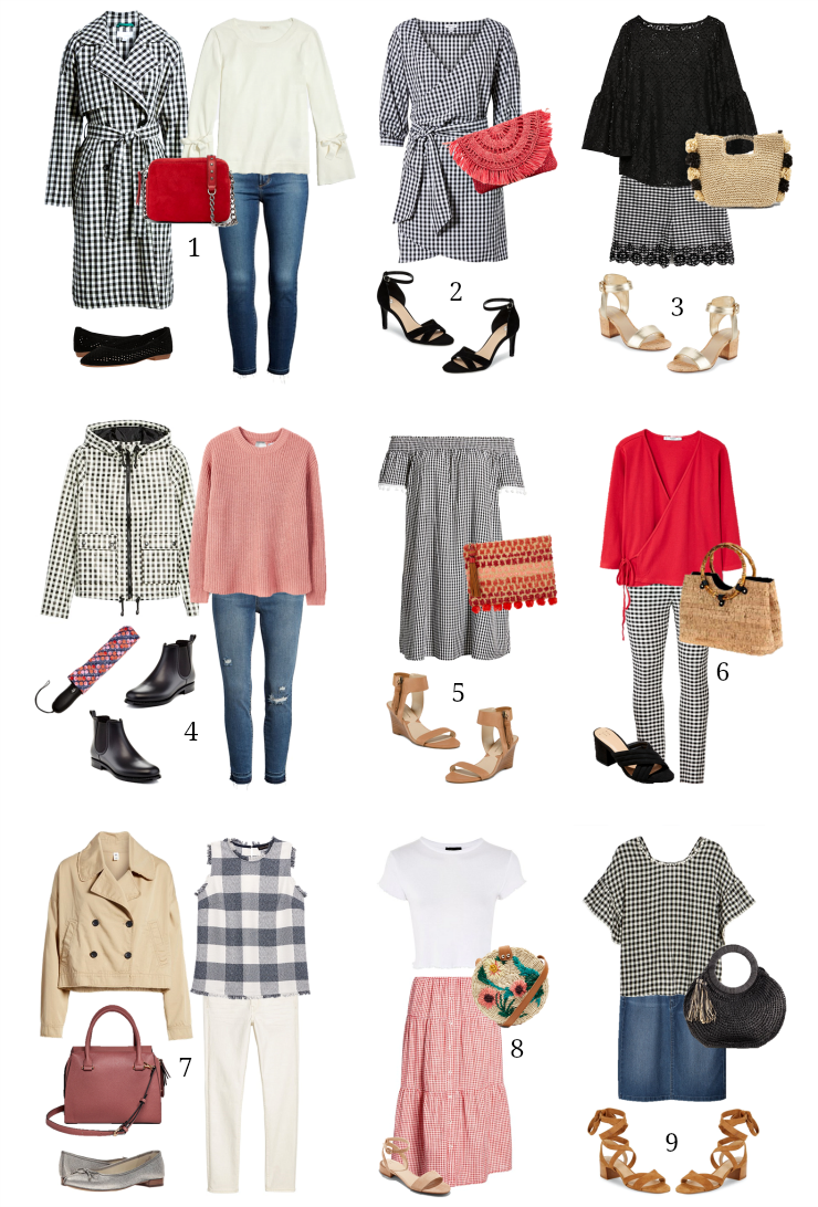 ways to wear gingham