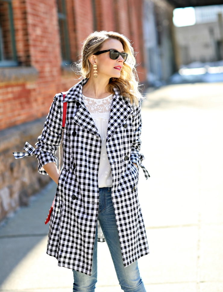 lace & gingham