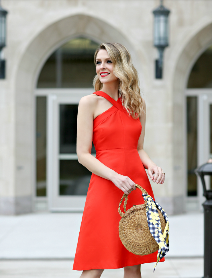 Ann Taylor Midi Dress