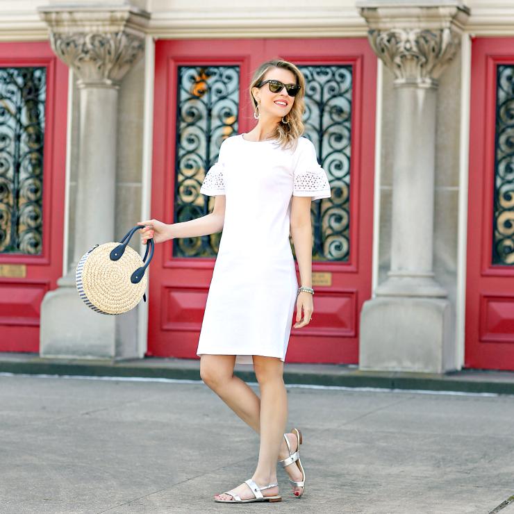 ec5e89d1185 Little White Dress - Penny Pincher Fashion