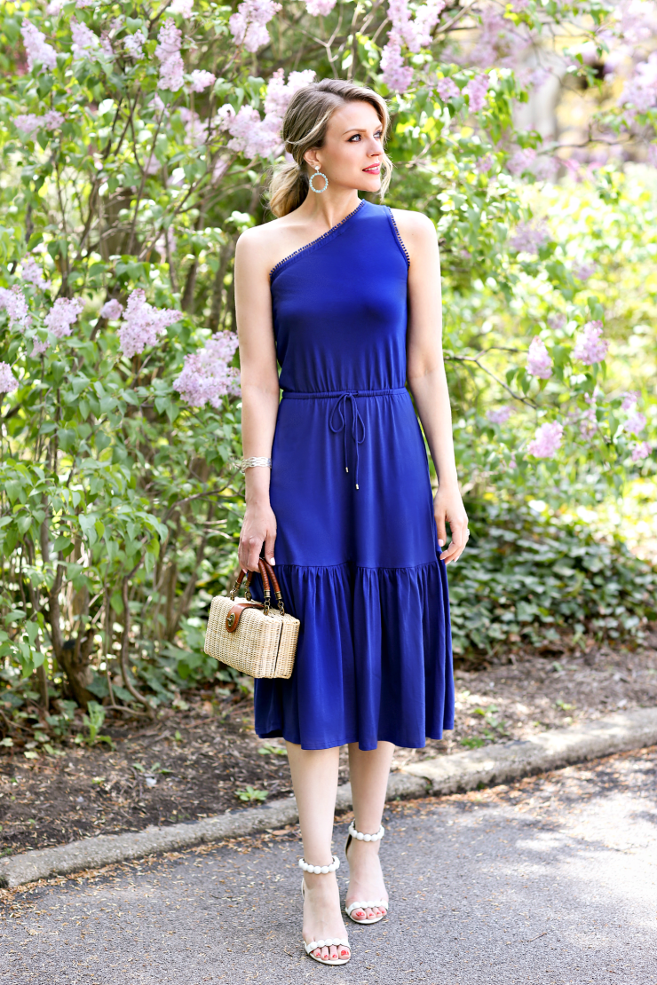 cobalt blue dress