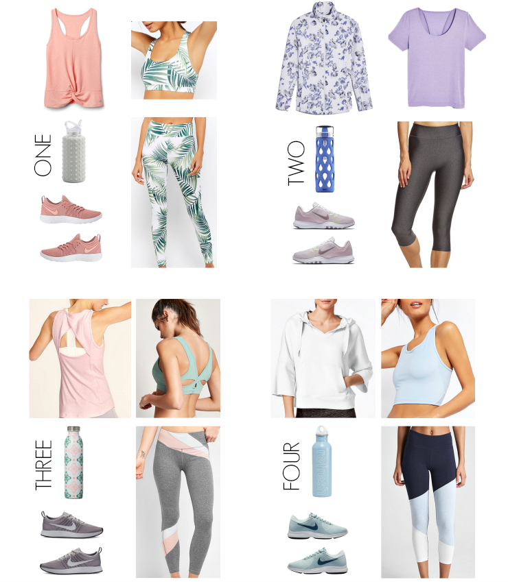spring activewear looks