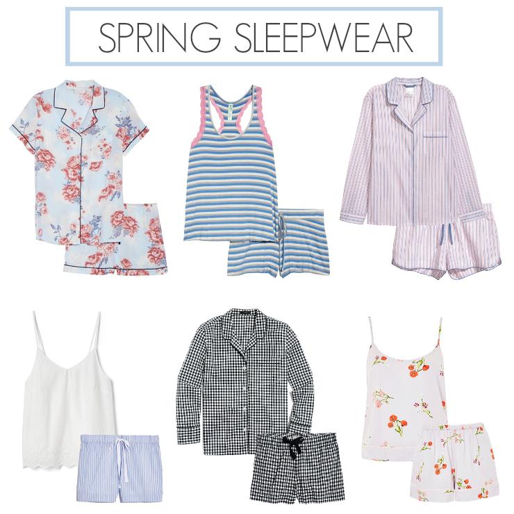 spring pajama sets