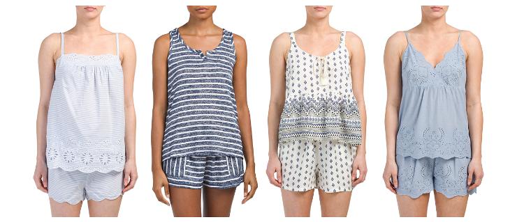 summer sleepwear