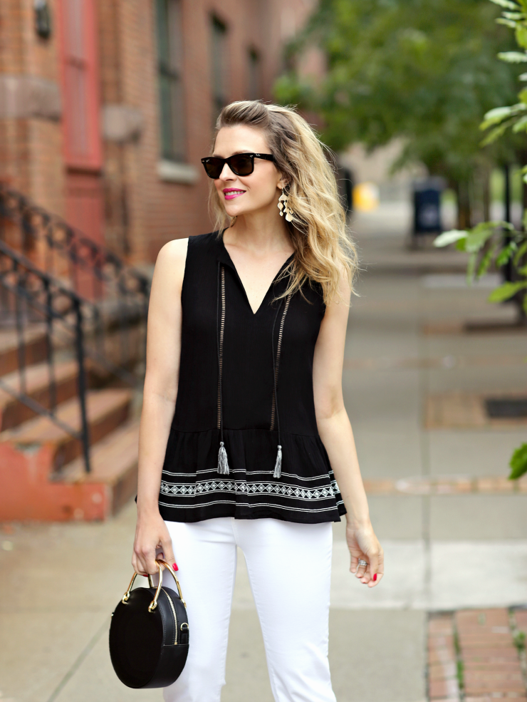 black & white chic