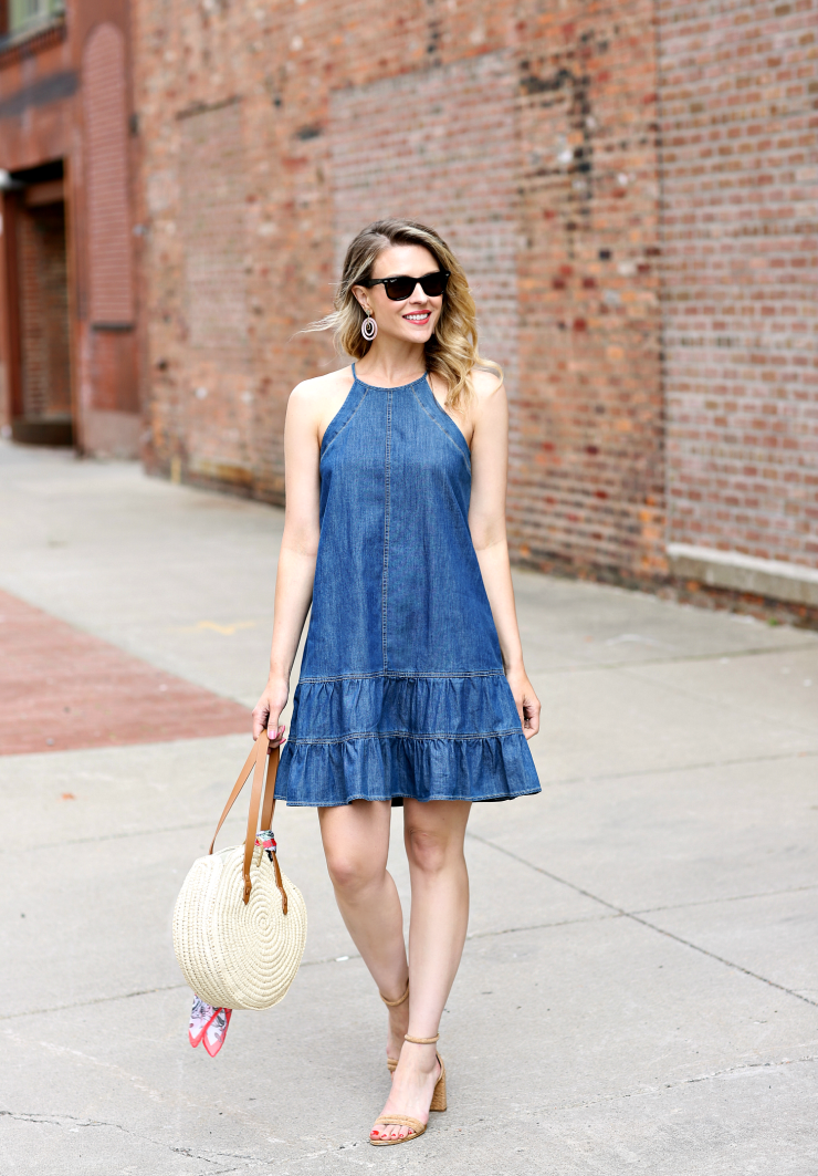 CeCe Ruffled Dress