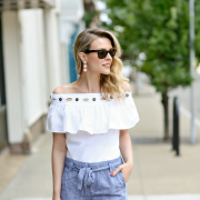 J. Crew Off The Shoulder Top