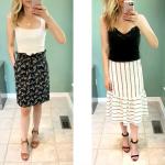 summer skirt outfits