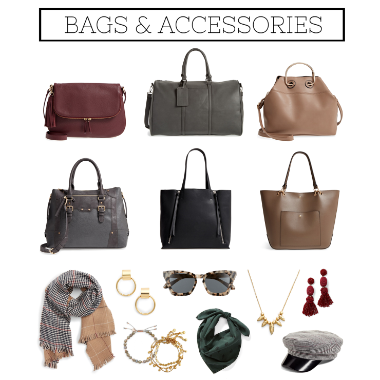 fall bags & accessories