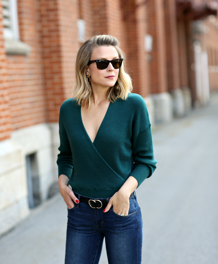 Leith Wrap Sweater