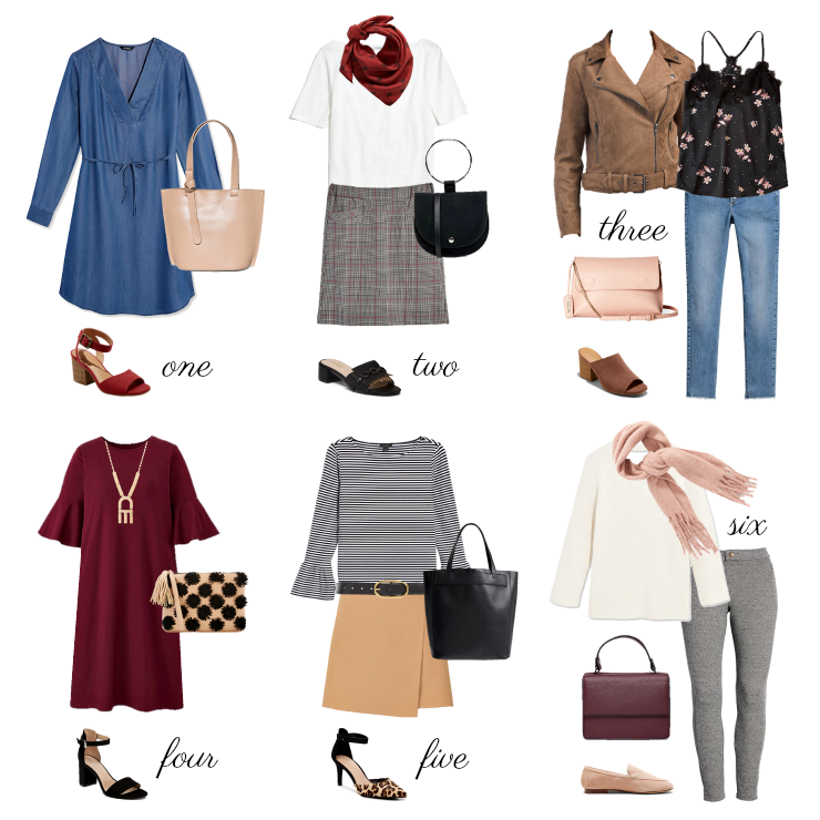 Transitional Fall Outfit Ideas