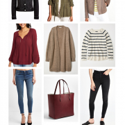 transitional fall staples