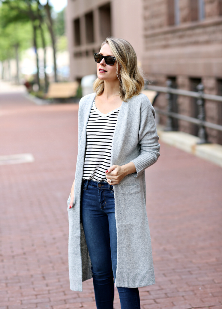 Treasure & Bond Duster Cardigan