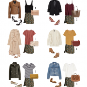 6 ways to wear floral skirt