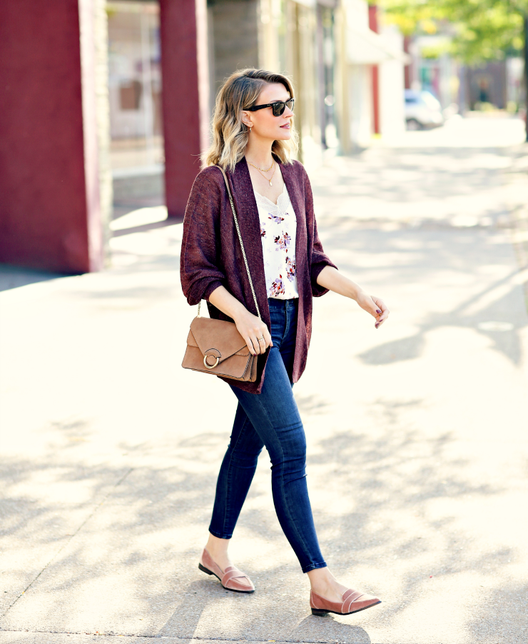 casual transitional outfit
