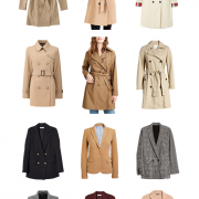 classic fall outerwear