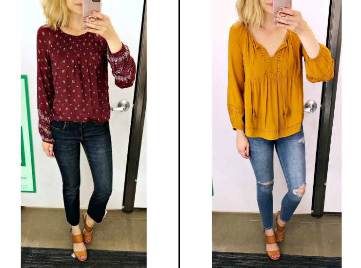 fall blouses