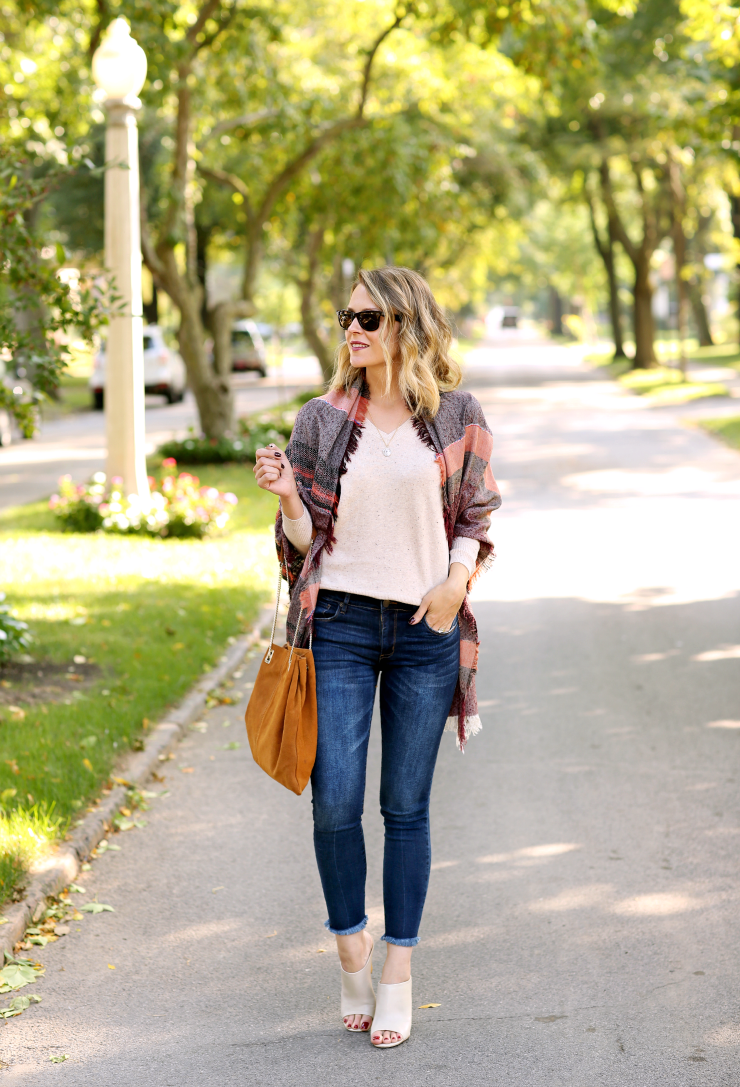casual fall layering