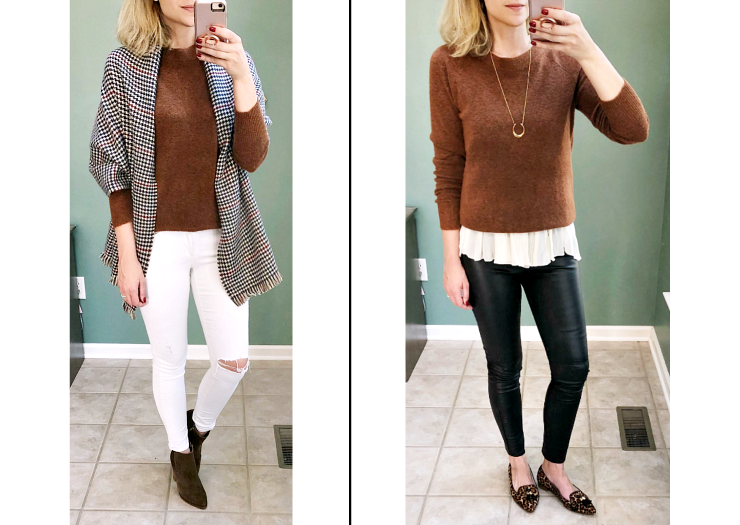 sophisticated fall layering