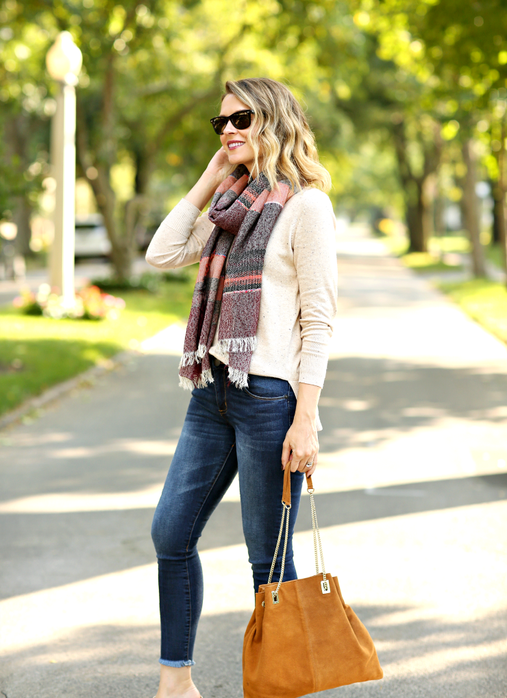 Steve Madden Striped Scarf