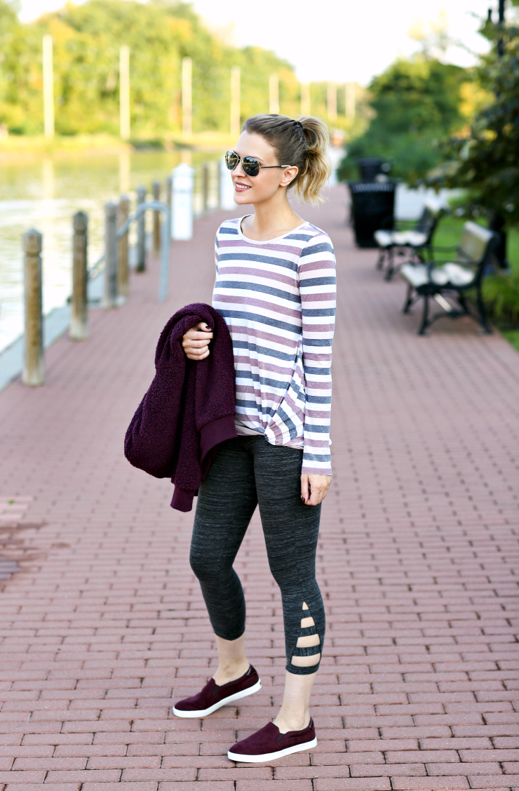 athleisure outfit