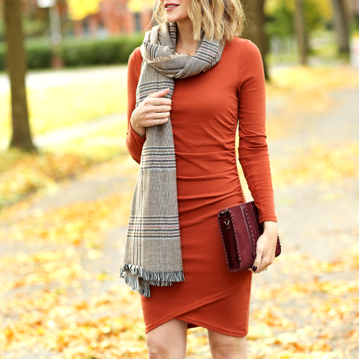 BP plaid scarf